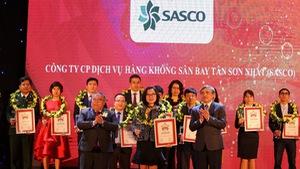 SASCO thuộc top 50 doanh nghiệp xuất sắc nhất VN 2017