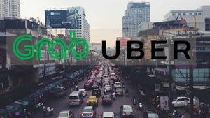 Grab sắp thâu tóm Uber ở Đông Nam Á?