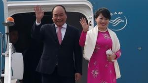 Thủ tướng Nguyễn Xuân Phúc đến Ấn Độ, dự Hội nghị cấp cao