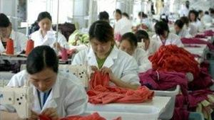 Mỹ-Trung Quốc căng thẳng quanh hàng may mặc