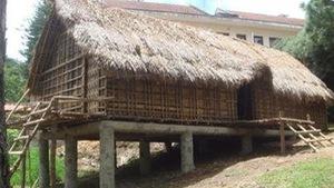 Phục dựng nhà sàn mẫu để bảo tồn