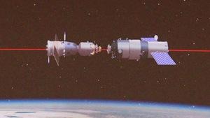 Tàu Thần Châu-8 tái lắp ghép với môđun Thiên Cung-1