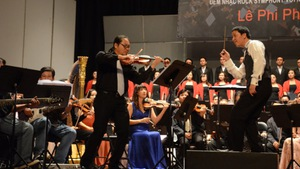 Gặp lại nhạc trưởng Lê Phi Phi và nghệ sĩ piano Bích Trà