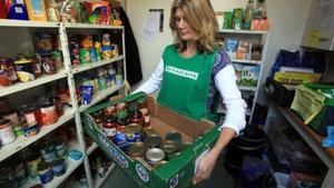 Chiến dịch quyên góp thực phẩm cho mùa Giáng sinh tại Anh