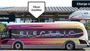 """Xe buýt điện Proterra """"ăn theo"""" mô hình Tesla"""