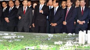 Xây dựng trục Nhật Tân - Nội Bài thành đô thị xứng tầm
