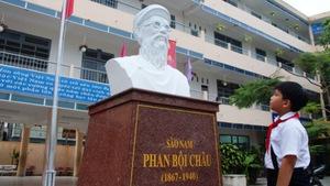 Khánh thành tượng chí sĩ Phan Bội Châu