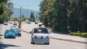 Xe tự lái mới của Google xuống phố