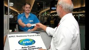 Thẻ đi lại của doanh nhân APEC có giá trị trong 5 năm