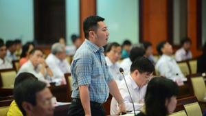 Ông Lê Trương Hải Hiếu trở thành chủ tịch quận trẻ nhất TP.HCM