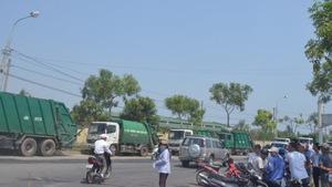 Bãi rác lớn nhất Đà Nẵng bốc mùi hôi nồng nặc
