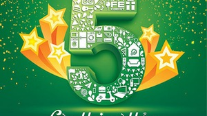 Fe Credit khuyến mãi tưng bừng nhân dịp sinh nhật tròn 5 tuổi