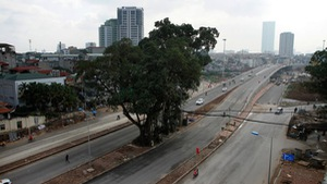 Thông xe đường nối Nhật Tân - Cầu Giấy trị giá 1.000 tỷ đồng/km