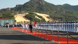 Cảng quốc tế Cam Ranh tiếp nhận được tàu sân bay 110.000 tấn