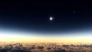 Video ngắm nhật thực ở độ cao 11.300m