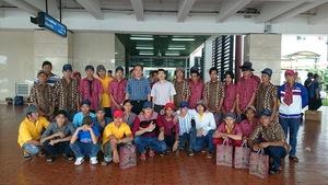 Thêm 36 ngư dân bị bắt ở Indonesia về nước