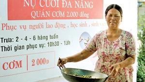Đà Nẵng đã cóquán cơm Nụ Cười 2.000 đồng