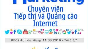 Khóa học Digital Marketing - Chuyên Viên Tiếp Thị & Quảng Cáo Internet - VietnamMarcom