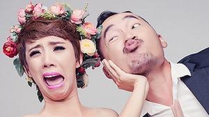 """Xem clip nghệ sĩ hài Thu Trang """"nặng nợ"""" với sân khấu kịch"""