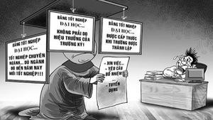Cách chức trưởng phòng Ban tổ chức tỉnh ủy 'xài' bằng giả