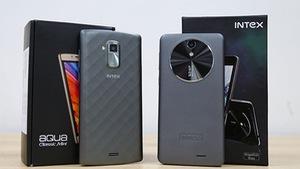 Cặp smartphone Intex thiết kế ấn tượng, giá dưới 2 triệu