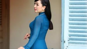 Nhạc sĩ Vinh Sử đóng MV cho ca sĩ Hà Vân