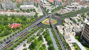 504 tỉđồng xây cầu vượt vòng xoay Nguyễn Kiệm - Nguyễn Thái Sơn