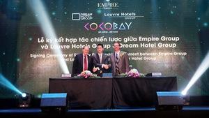 Empire Group ký hợp tác với 2 tập đoàn nước ngoài