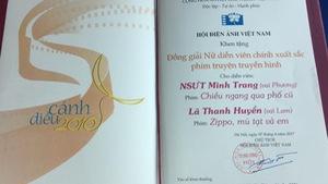 NSƯT Minh Trang không bị gọi tên nhầm ở giải Cánh Diều