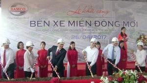 Khởi công xây Bến xe Miền Đông mới
