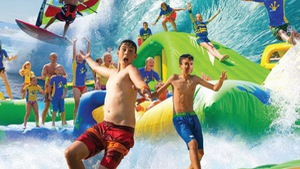 Vinpearl Land Nha Trang khai trương công viên phao nổi trên biển