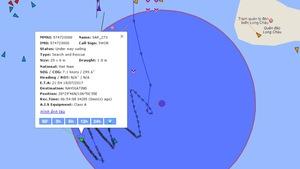 Va chạm tàu hàng với tàu cá, 2 ngư dân mất tích