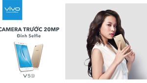 Smartphone Vivo V5S chính thức trình làng với giá bán 6.990.000 đồng