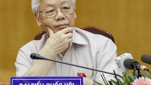 Tổng bí thư giải thích việc kỷ luật ông Đinh La Thăng