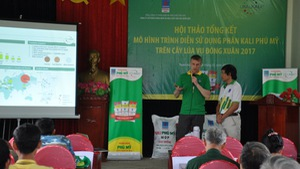 Phân bón Phú Mỹ hỗ trợ nông dân chuẩn bị vụ Hè Thu