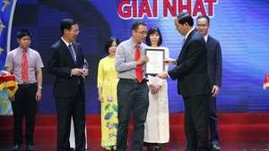 Báo Tuổi Trẻ đoạt giải nhất giải thưởng toàn quốc về thông tin đối ngoại