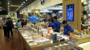 500.000 bản sách trong không gian 'Thành phố sách' đầu tiên ở VN
