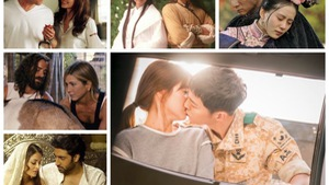 Trước Song - Song nhiều cặp sao yêu trong phim, cưới ngoài đời