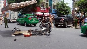 'Xe điên' tông ba xe làm ba người thương vong