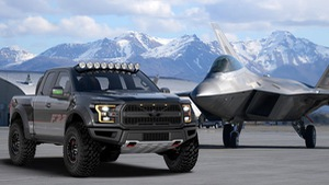 Ford chế siêu xe bán tải cảm hứng từ chiến đấu cơ F-22
