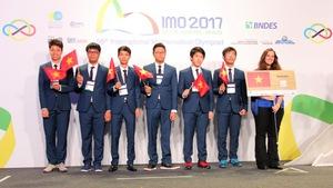 Việt Nam đoạt 4 huy chương vàng Olympic Toán quốc tế