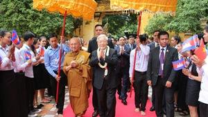 Việt Nam - Campuchia: Xây dựng biên giới hòa bình