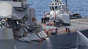 Tàu khu trục Mỹ USS Fitzgeraldcó thể có lỗi
