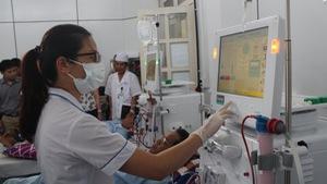 Bệnh viện ở Hòa Bình tăng cường máy chạy thận