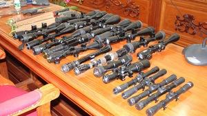 Cần Thơ bắt giữ ông 'trùm' cho vay lãi cùng 28 khẩu súng