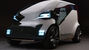 Honda tung liền 2 chiếc xe điện năm 2018