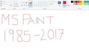 Microsoft 'rung chuông báo tử' với Paint sau 32 năm tồn tại