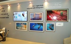 Đắm mình trong không gian nghệ thuật tại triển lãm The Frame - TV Khung Tranh