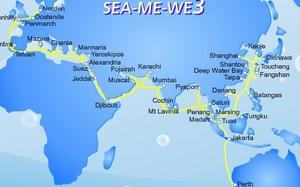 Cảnh sát biển phối hợp bảo vệ tuyến cáp quang biển