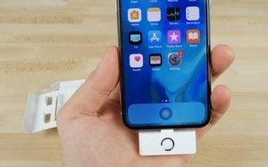 Phụ kiện giúp lấy lại nút 'Home' và jack cắm tai nghe cho iPhone X